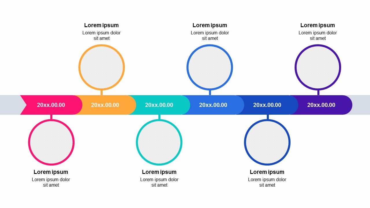 Timeline Powerpoint Template Free from pptmon.com