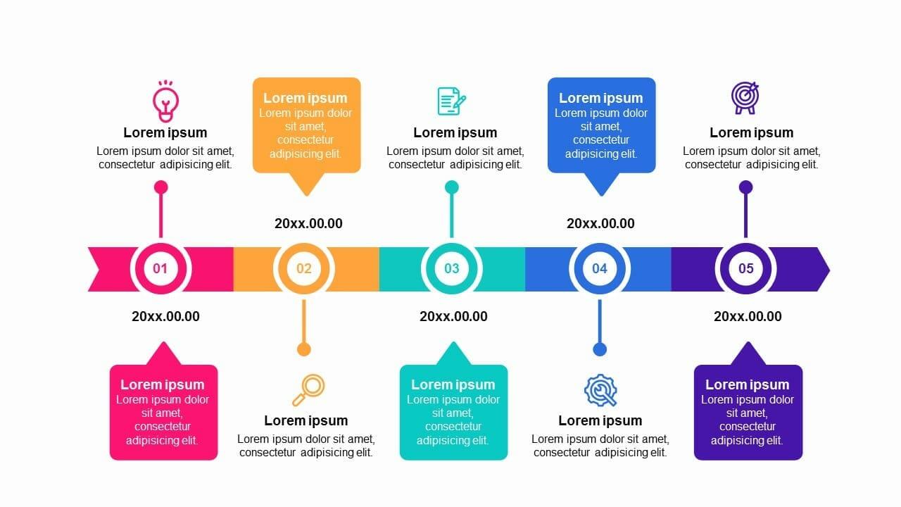 Powerpoint Roadmap from pptmon.com