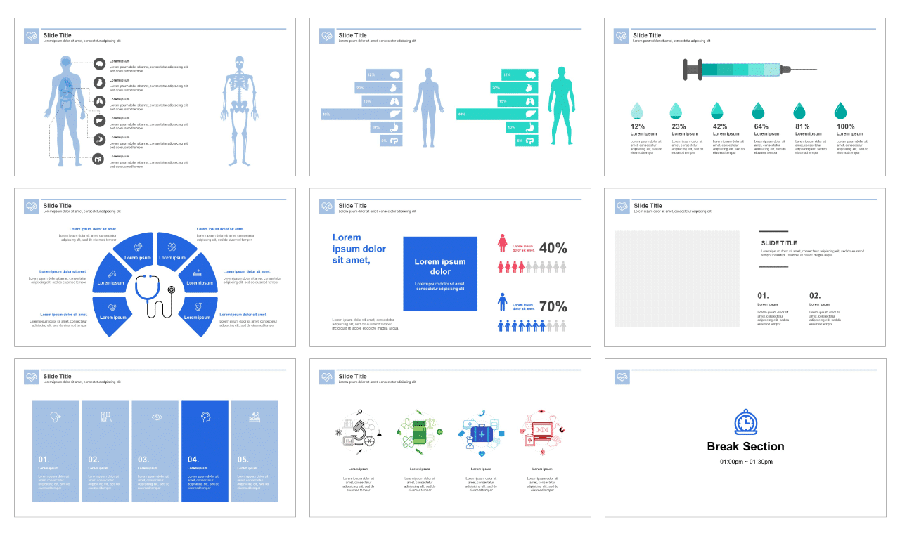 Medical Google slides theme and Free PPT template