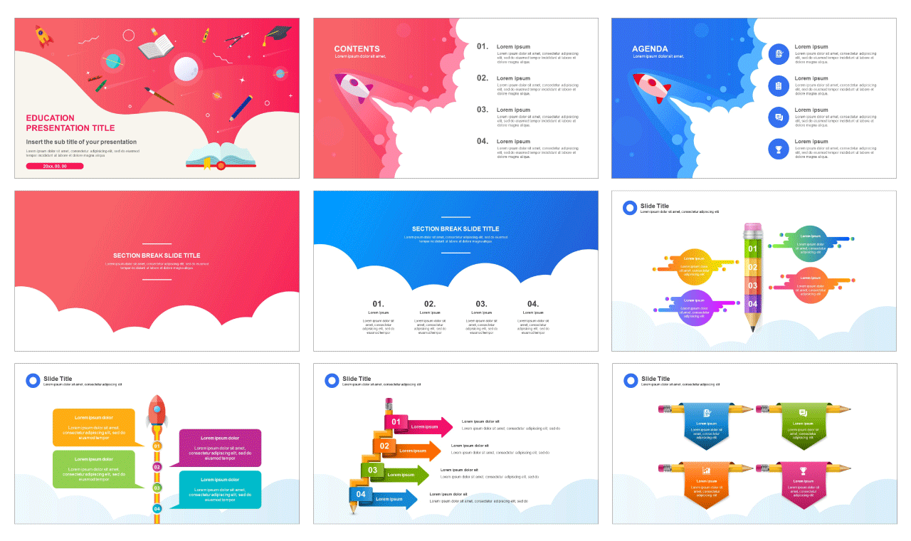 Education Google slides theme and Free powerpoint template