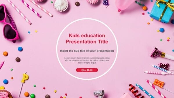 Kid Powerpoint Template from pptmon.com