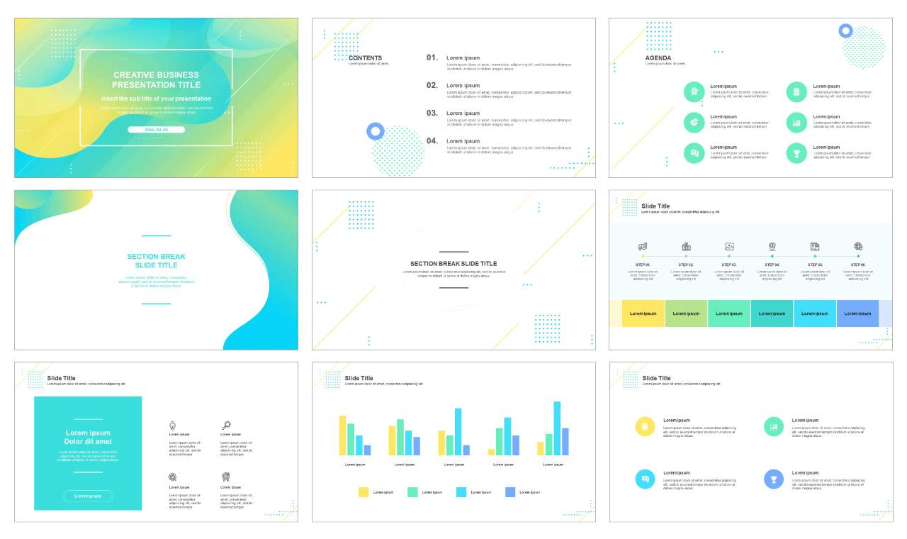 Google slides theme and power point templates