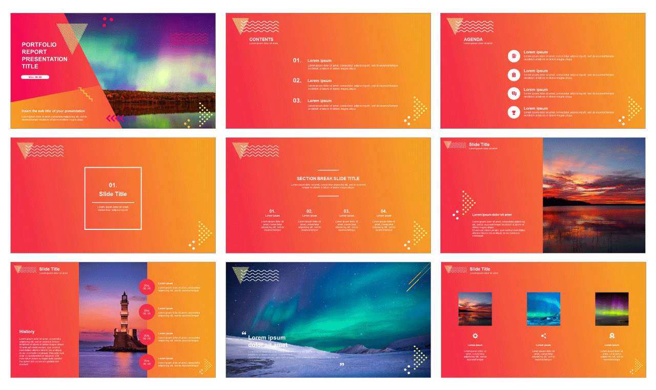 01-Portfolio-report-free-google-slides-theme-and-powerpoint-template-image
