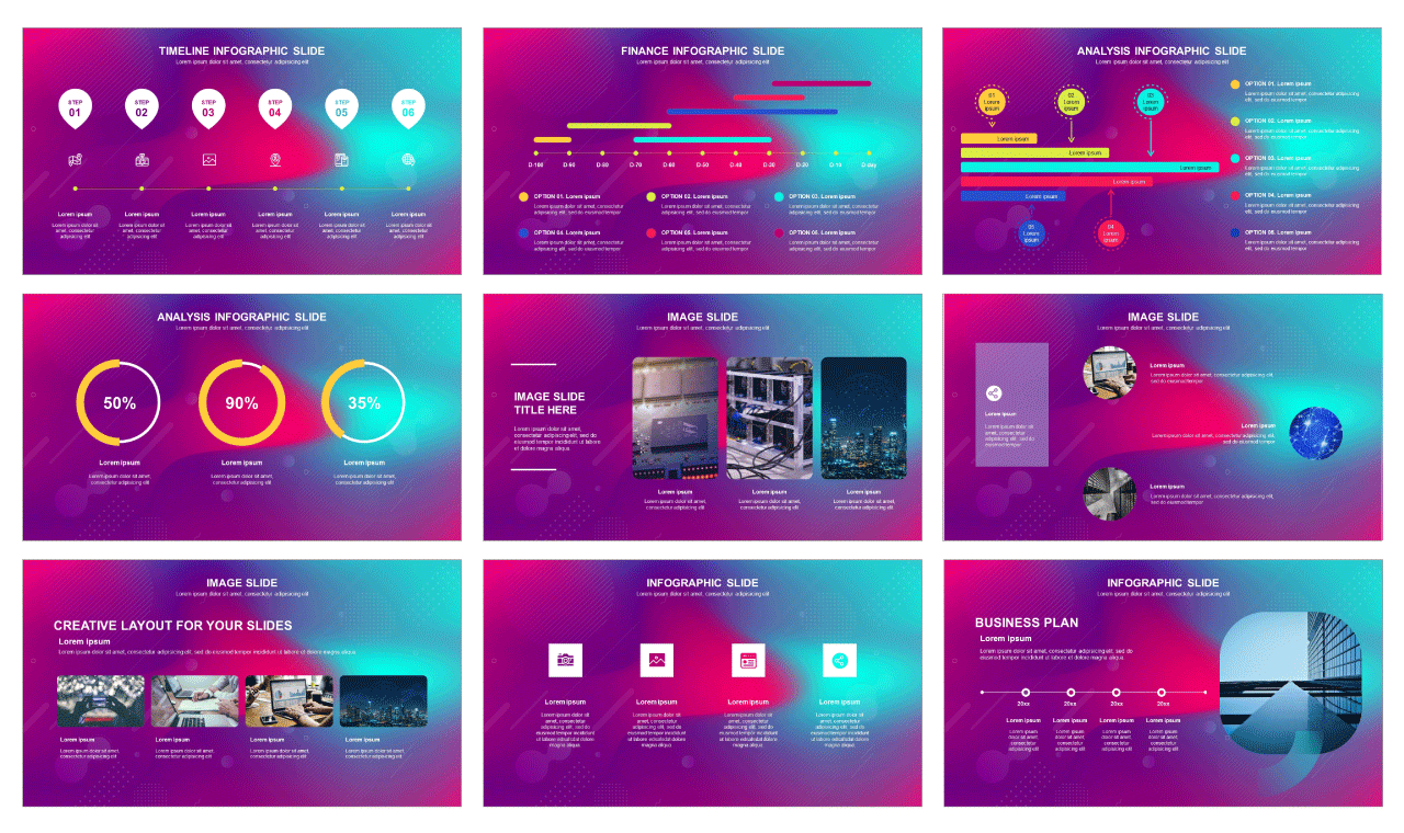 Creative report free powerpoint template and google slides theme - PPTMON