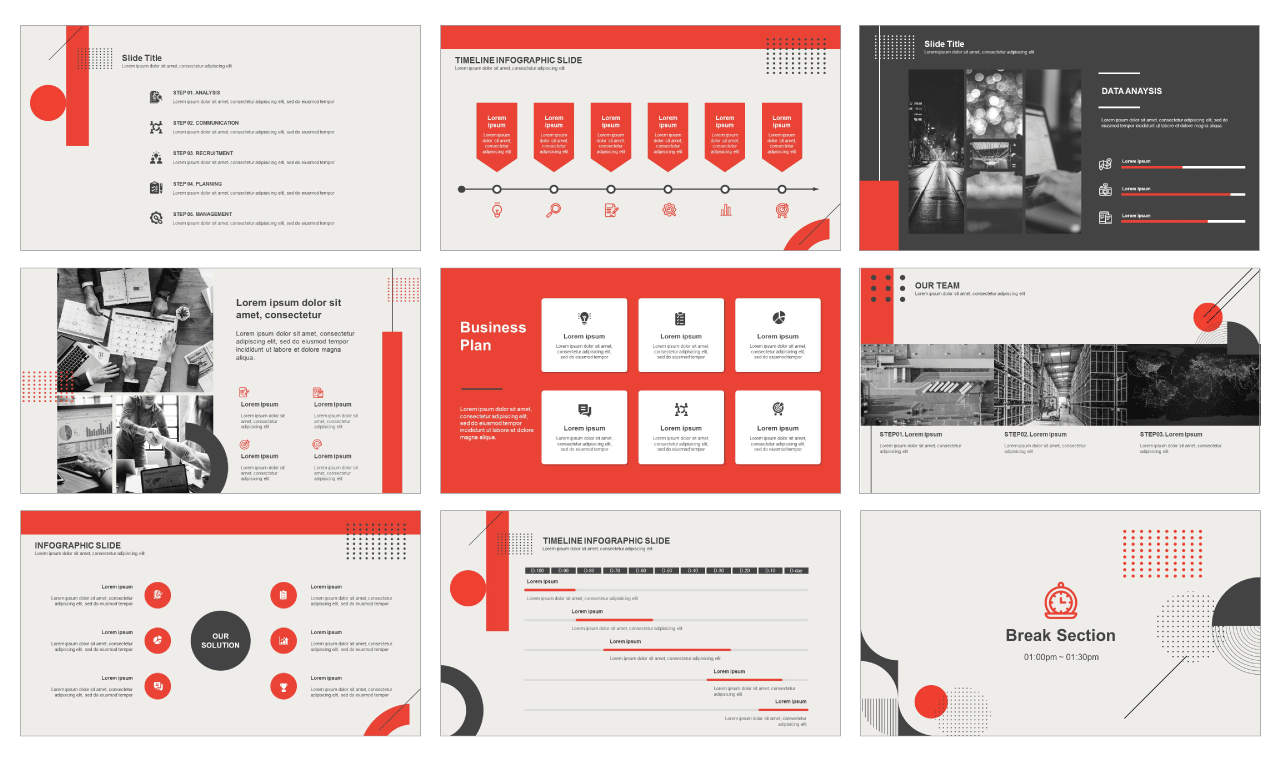 Presentation Template For Powerpoint from pptmon.com