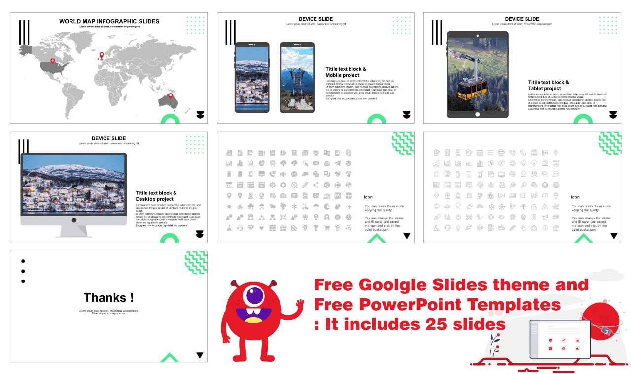 Free PPT templates and Free google slides theme