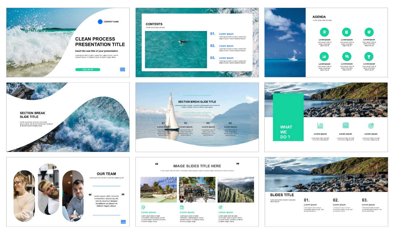 Free powerpoint templates and Google slides theme