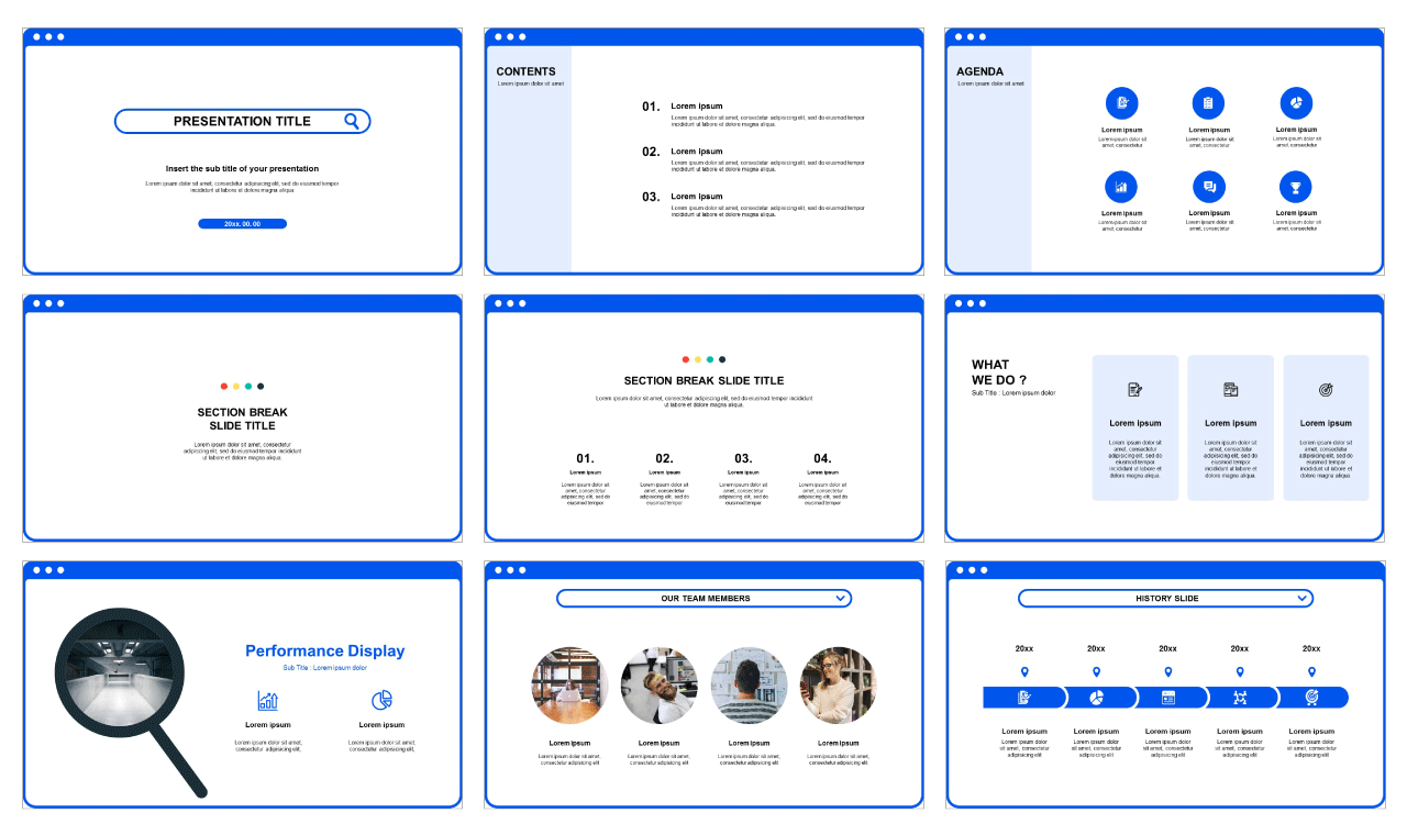 Best presentation templates download