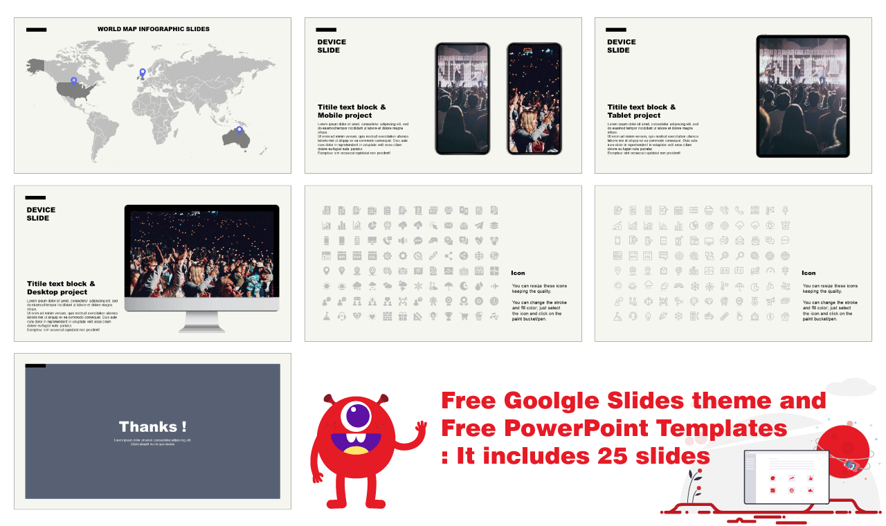 Free theme Google slides