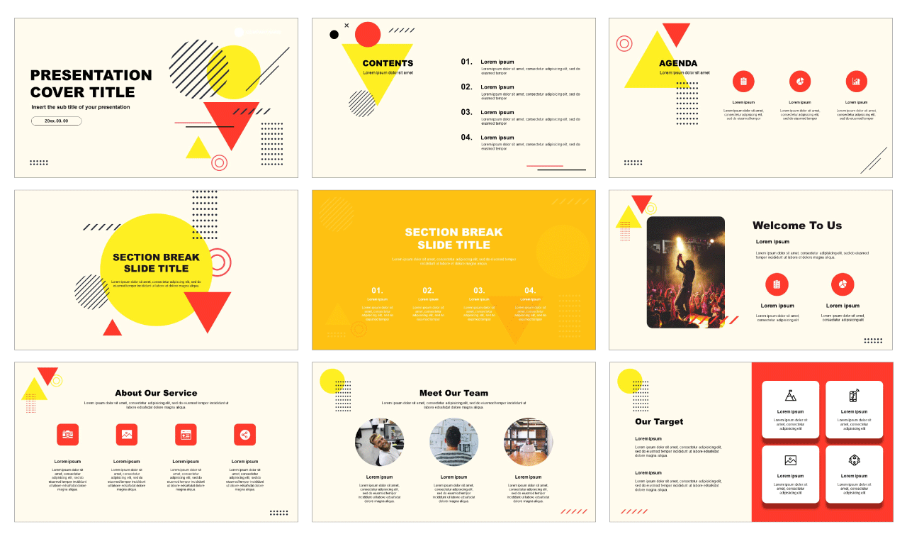 Abstract Free powerpoint template