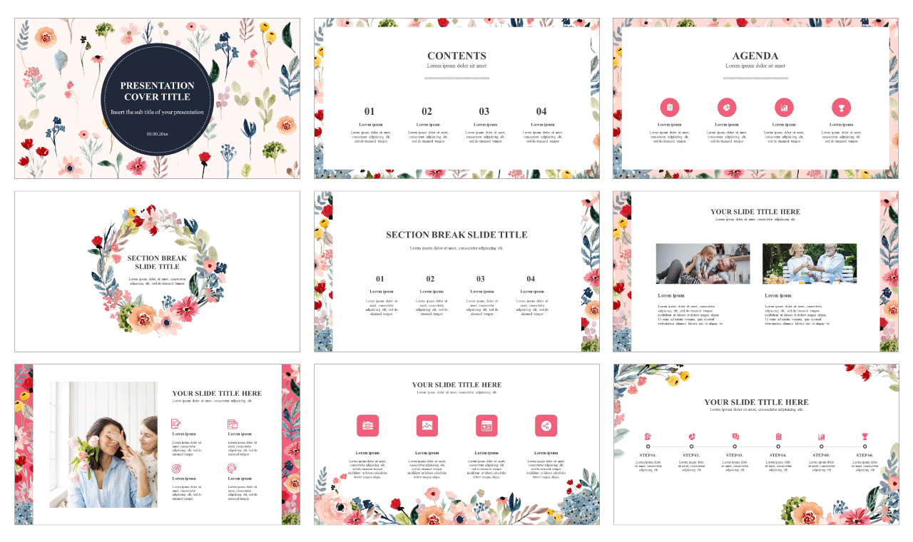 watercolor Free powerpoint templates