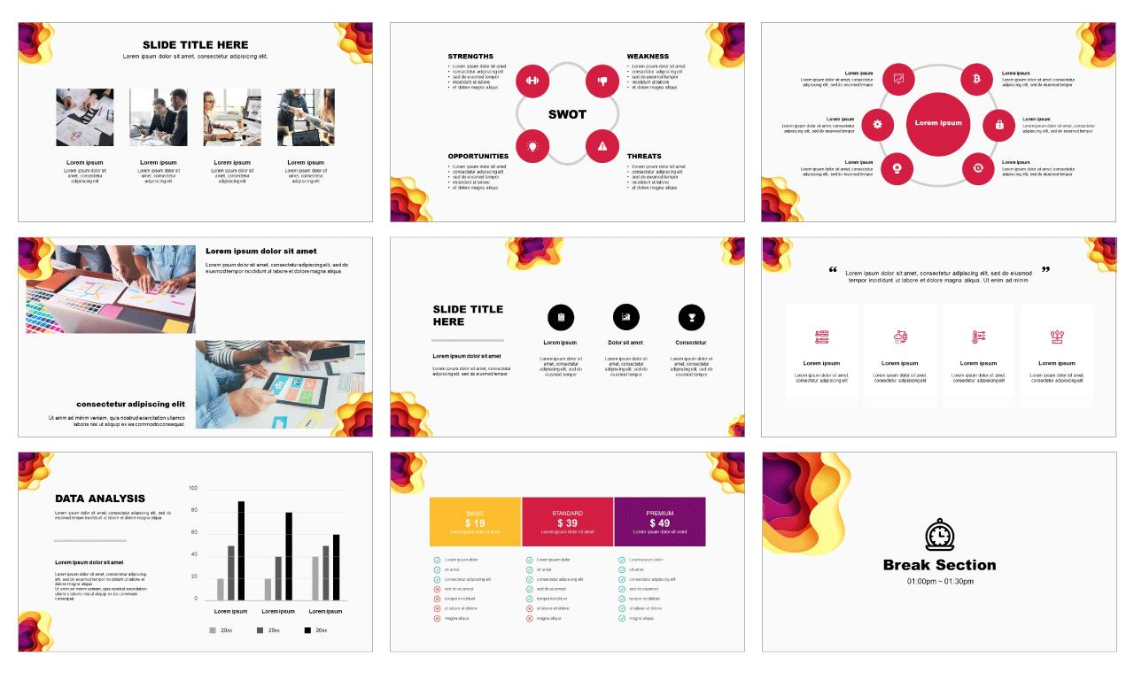 Google slides theme templates