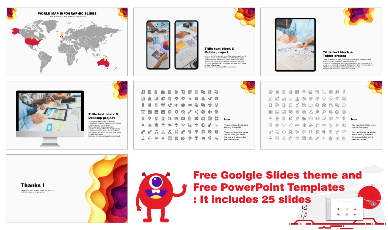 PPT device templates Free download