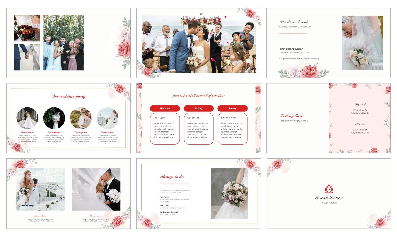 Wedding-Invitation-Google-slides-theme