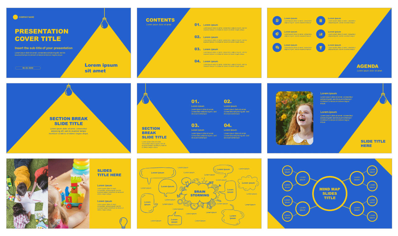 Education Free Powerpoint templates