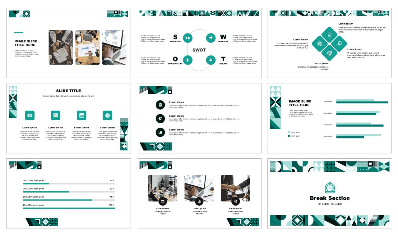Geometric-Business-Google-slides-theme