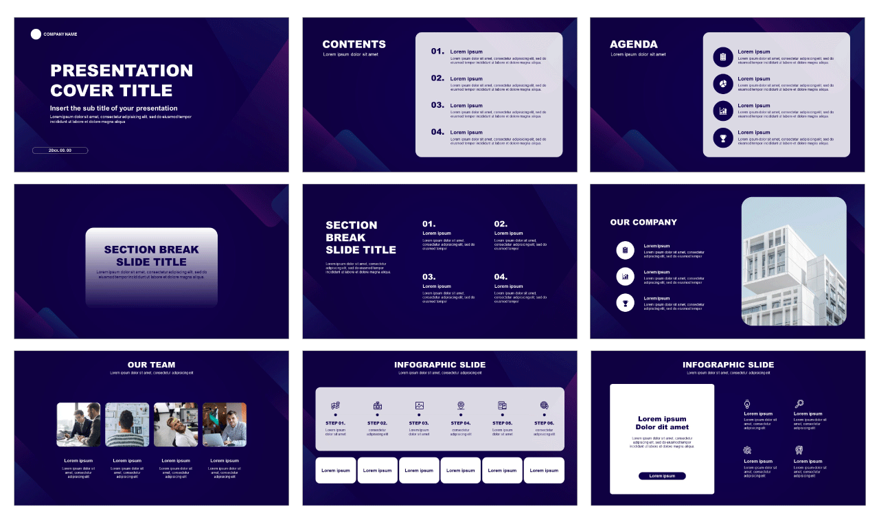 Pitch Deck Google slides theme Free download