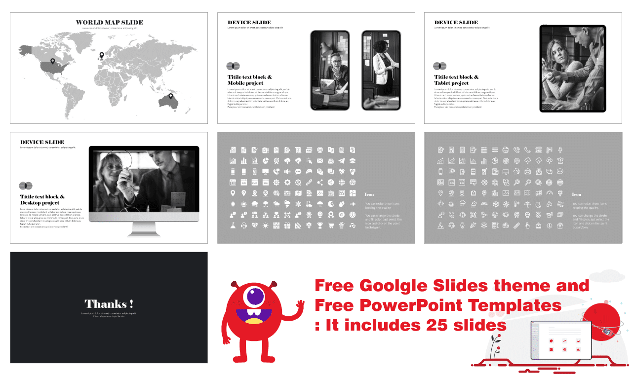 Business Free PowerPoint templates and Google slides theme