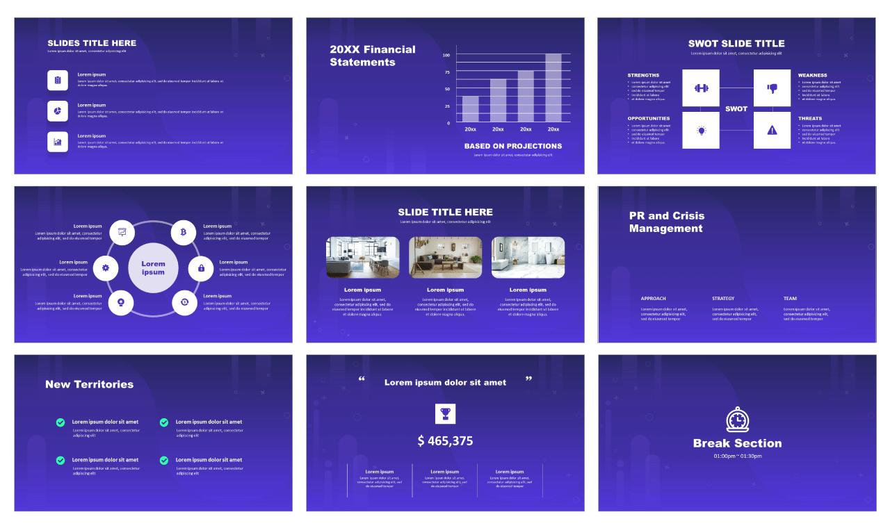 Corporate analysis For Google slides and PowerPoint templates