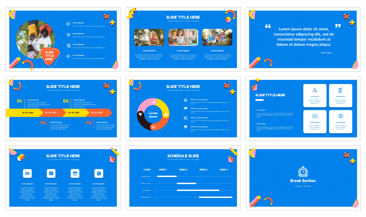 Education Google slides theme