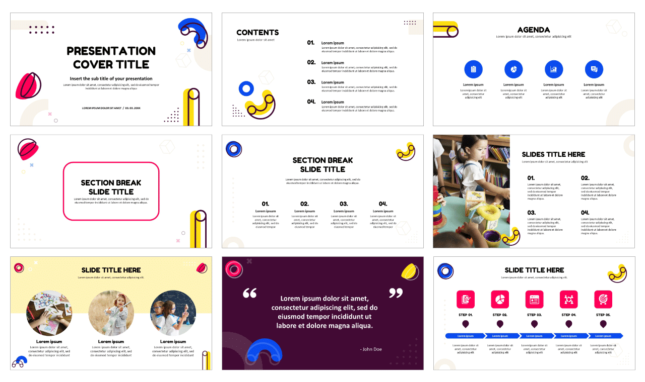Education for Google slides theme Free Powerpoint templates
