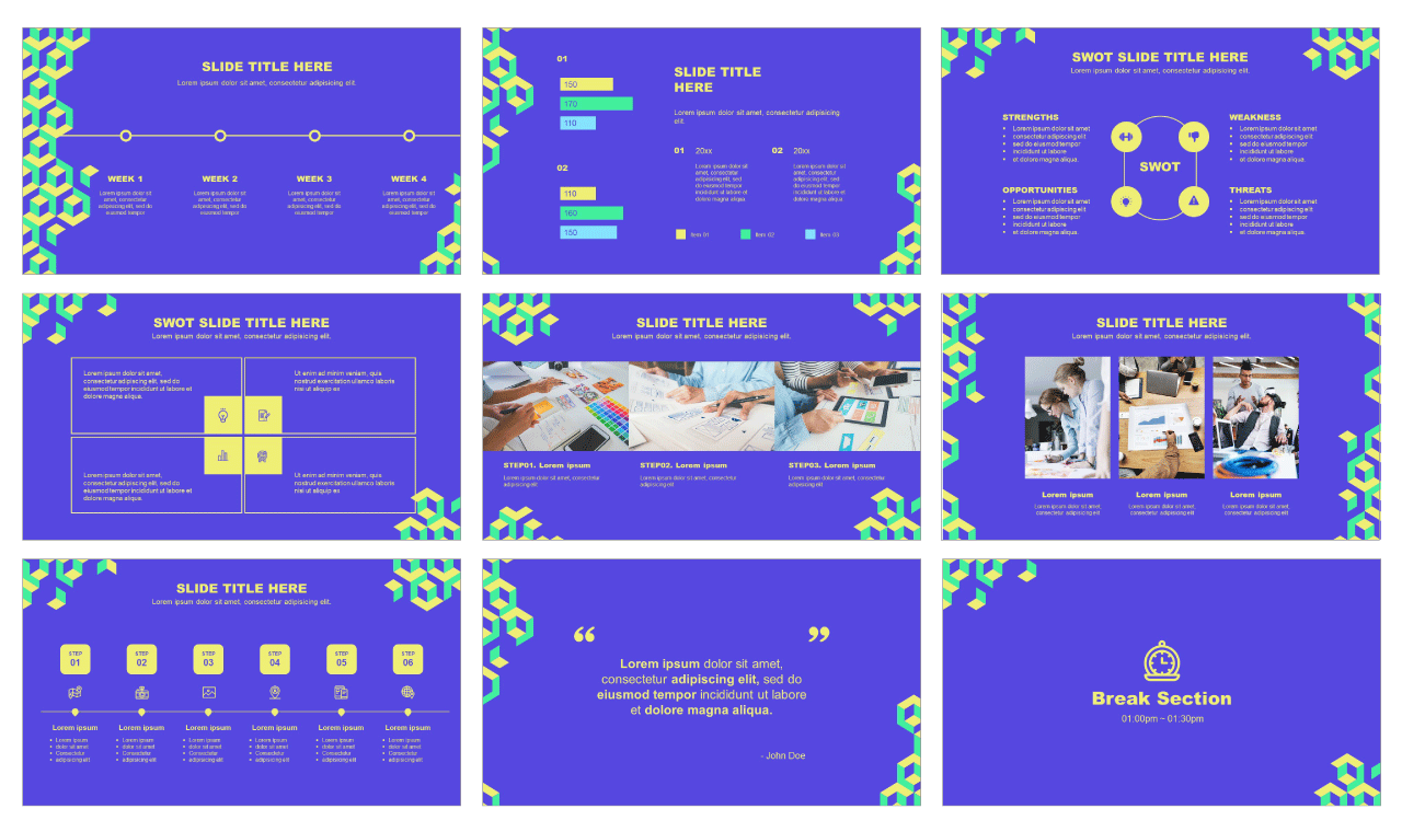 Google slides theme