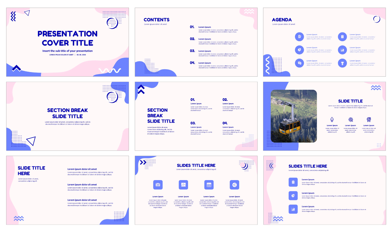 Report Free PowerPoint templates
