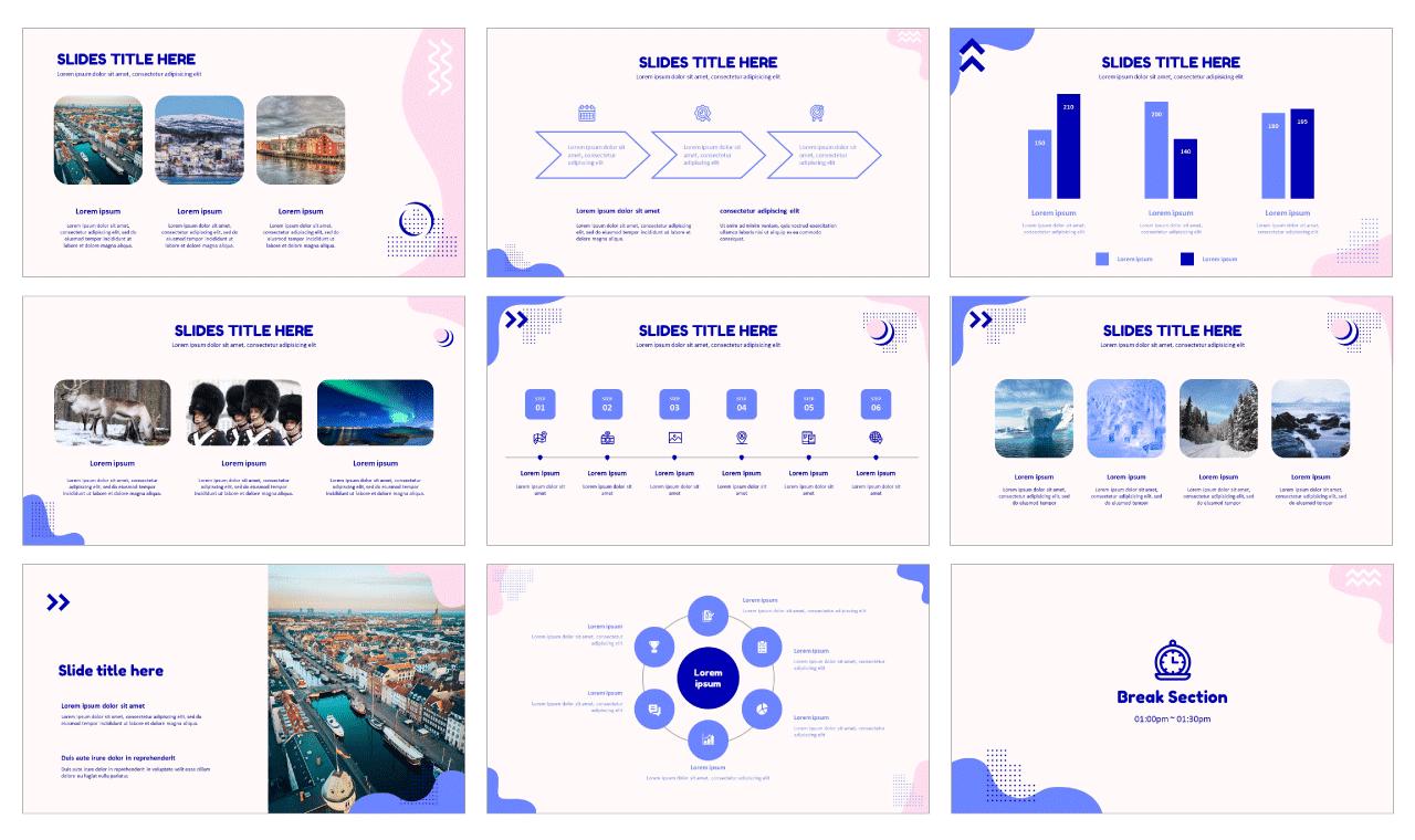 Report Google slides theme