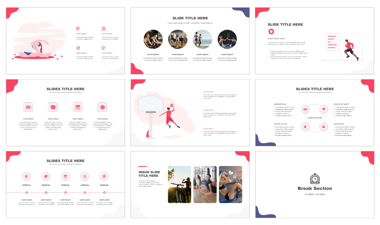 Business Project - Free PPT templates