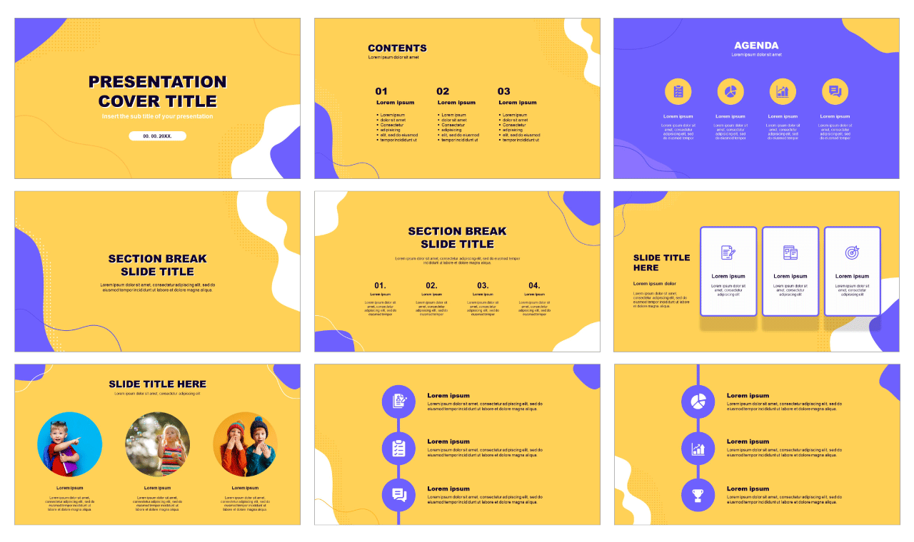 Education Free PowerPoint template