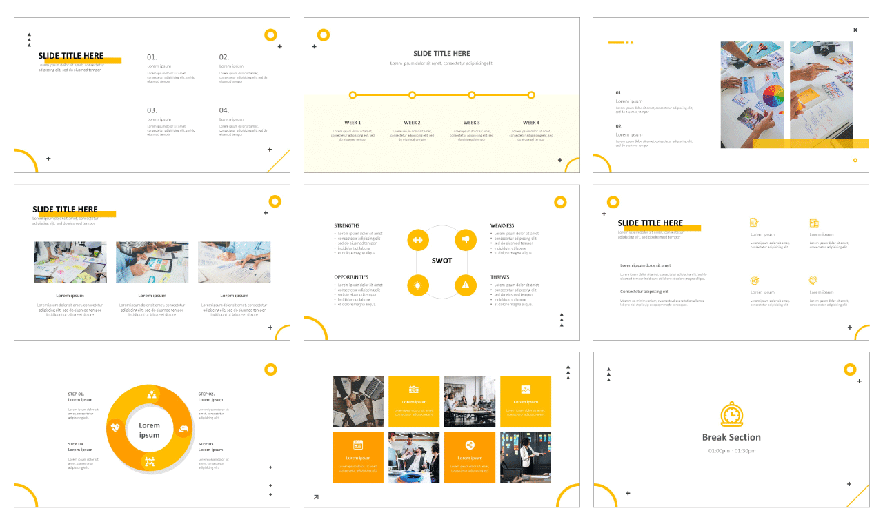 Simple Free PPT templates
