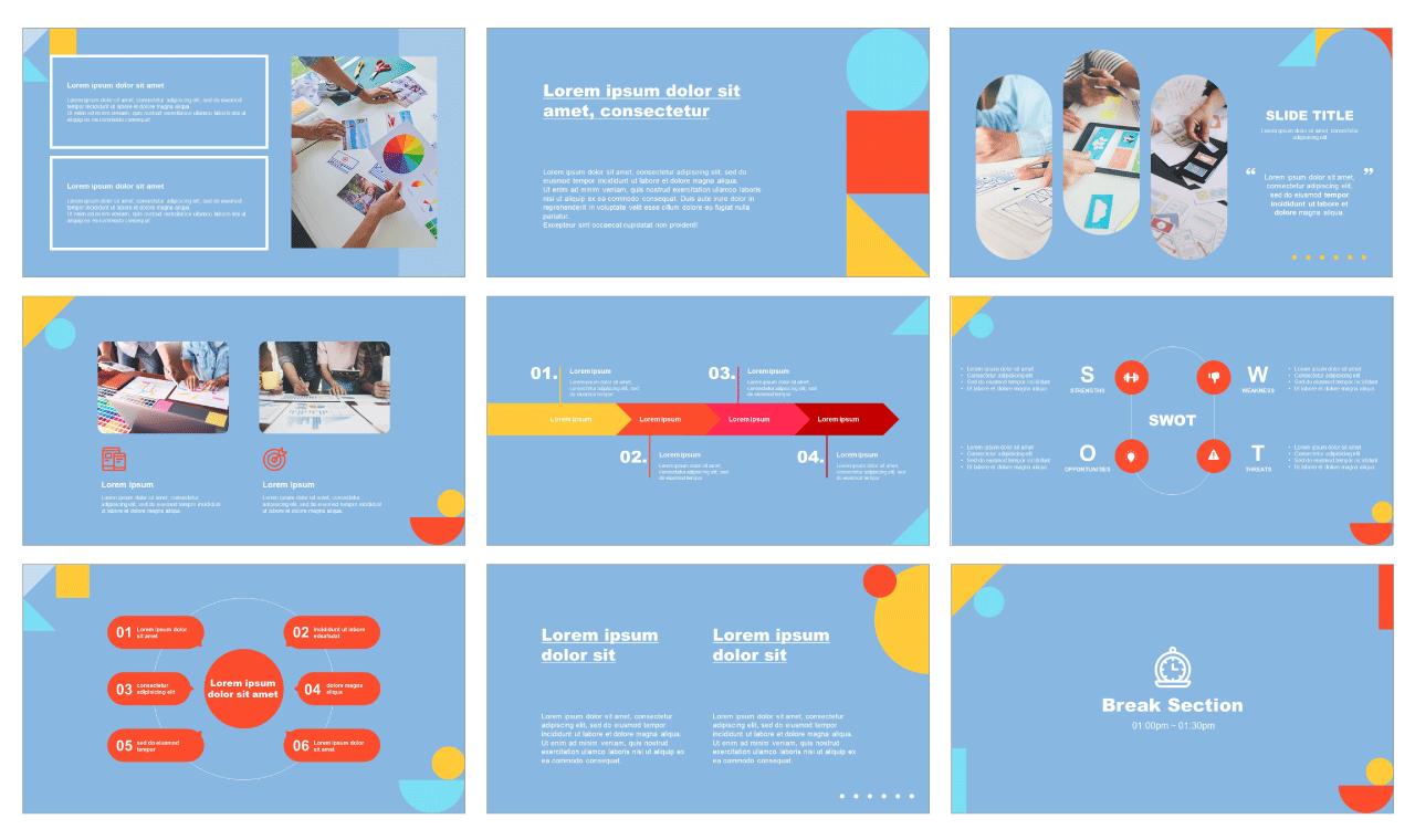Creative Google sldies theme