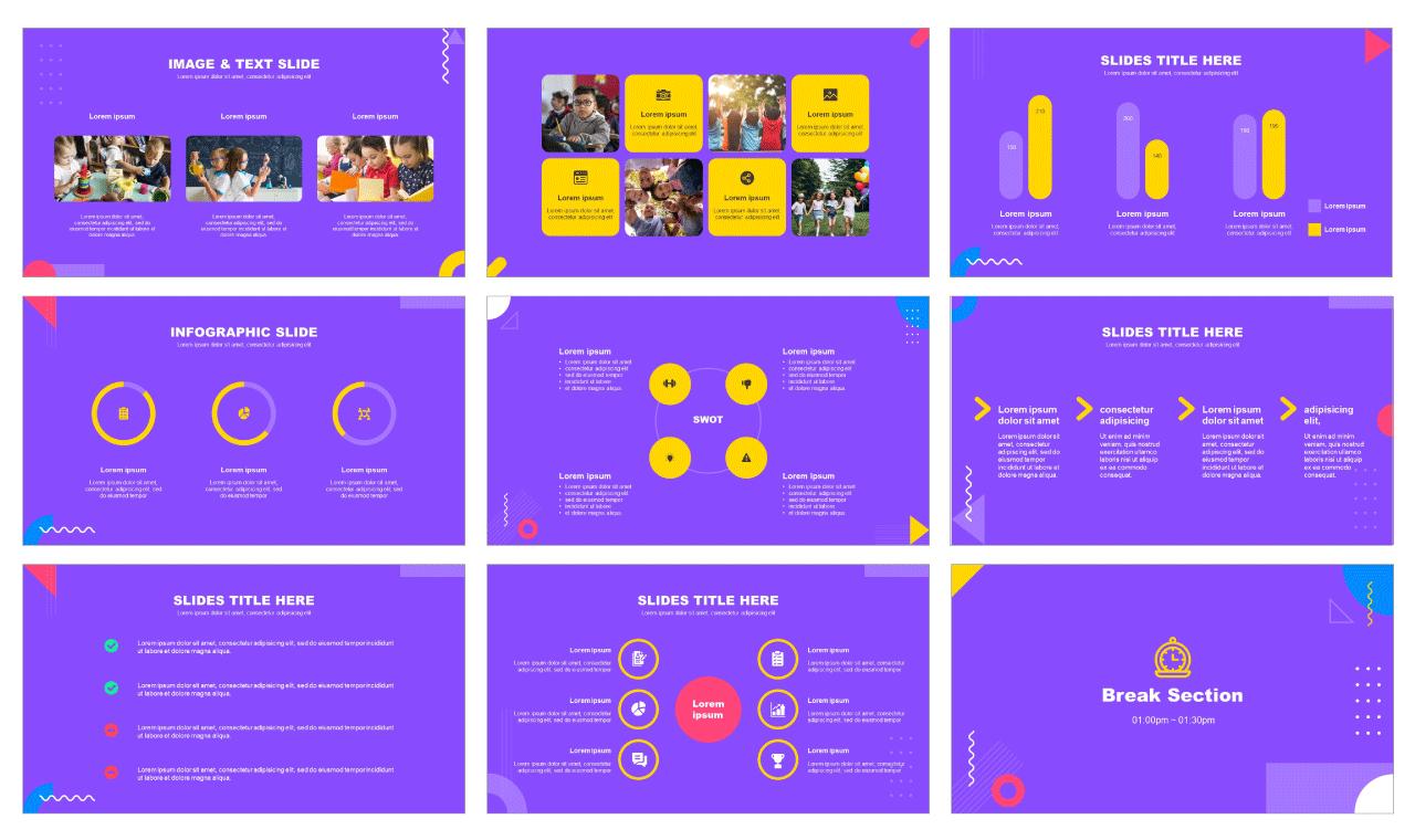 Education Google slides theme