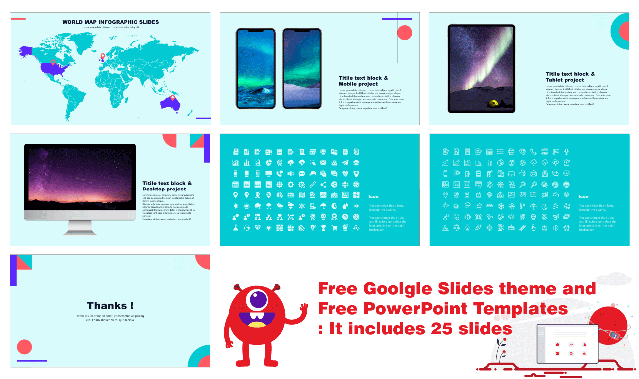 Geometry Free PowerPoint Templates Design