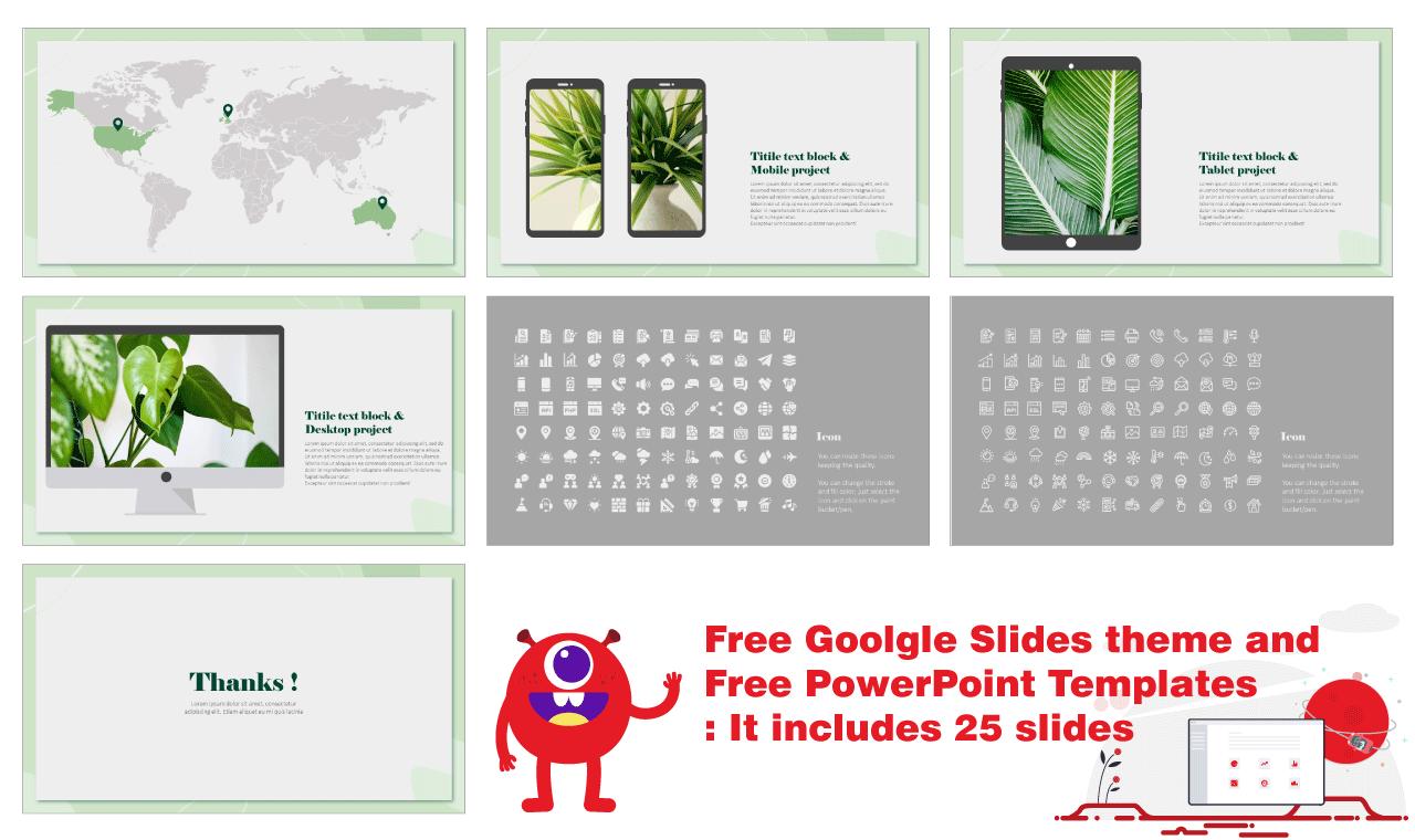 Organic Free PowerPoint Templates