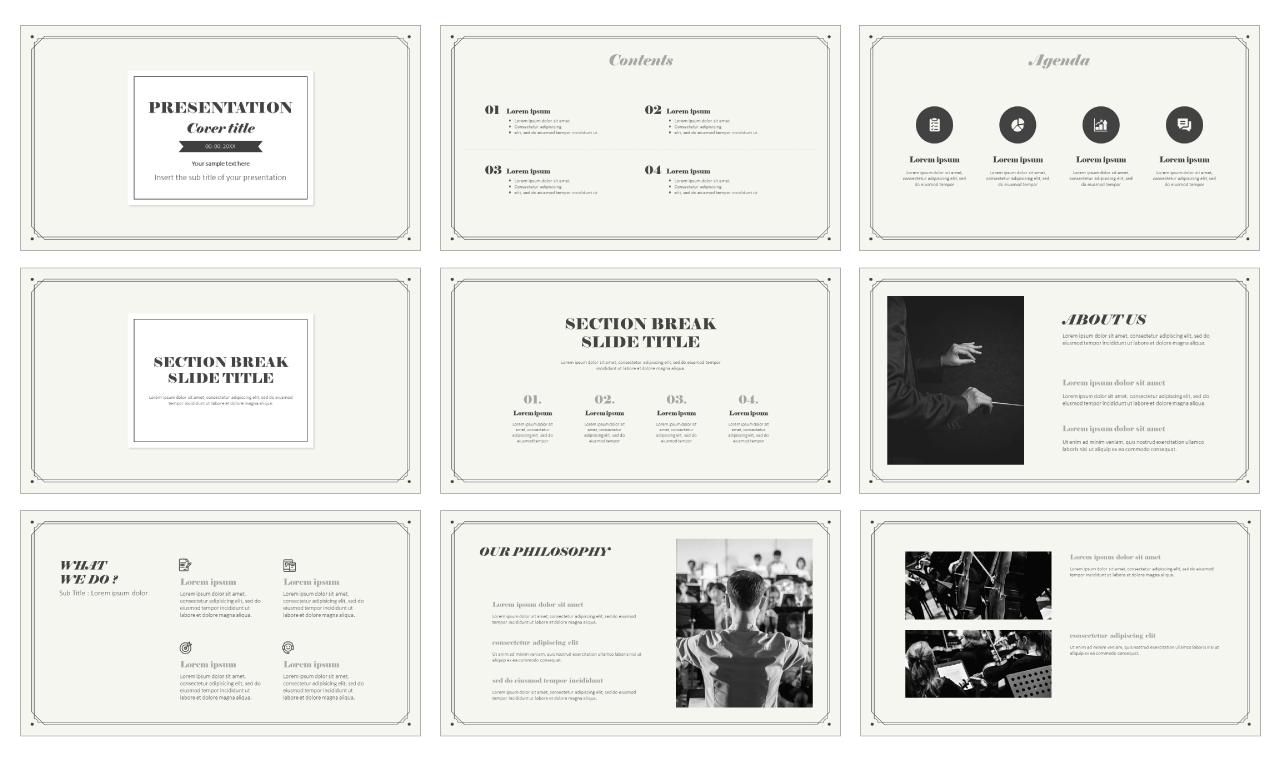Vintage Free Google slides theme PowerPoint template