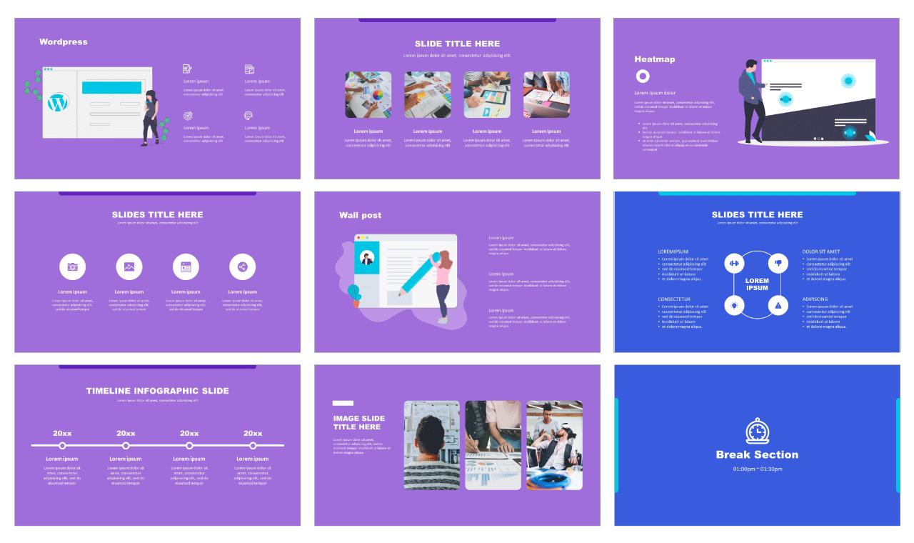 Web Business Google slides theme