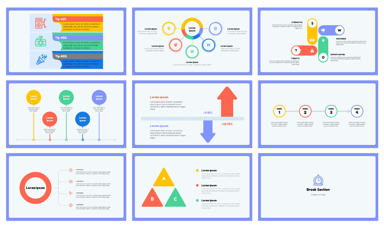 Best Infographic Elements PowerPoint Templates Google Slides Theme