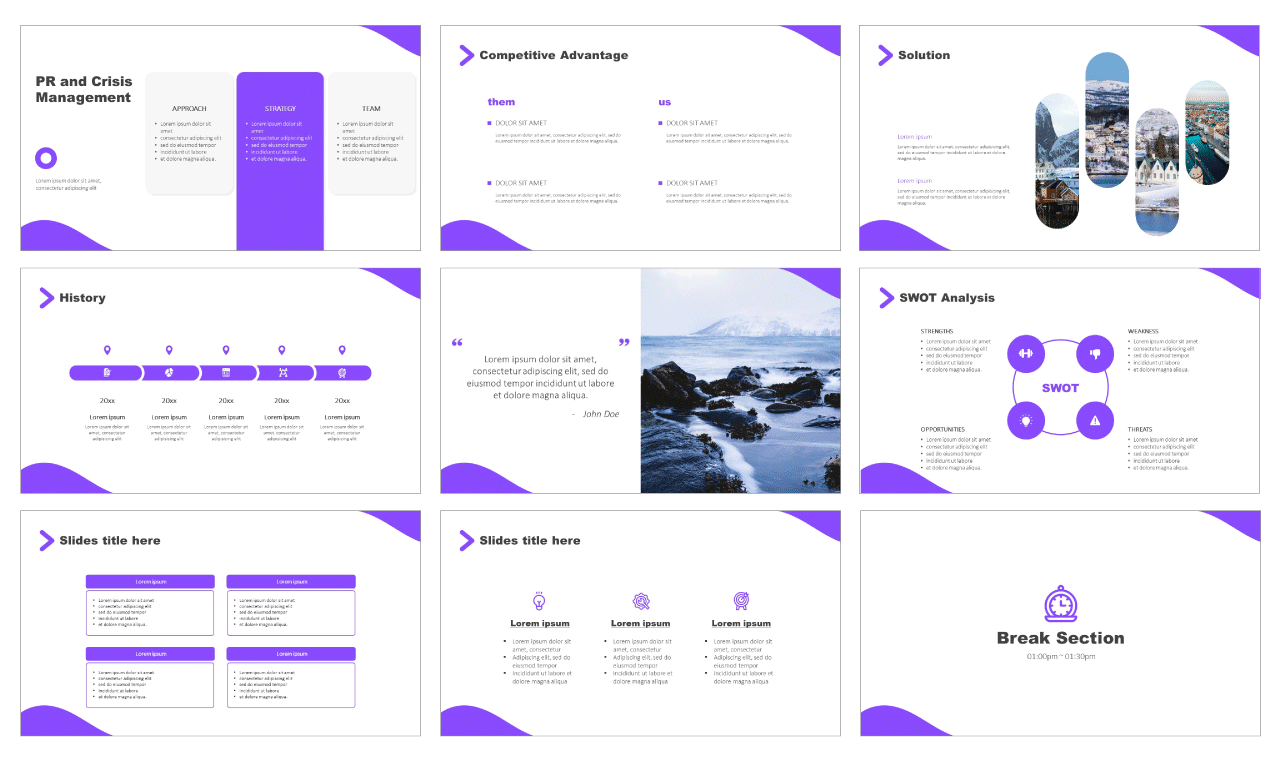 Business Elements Free PowerPoint Templates