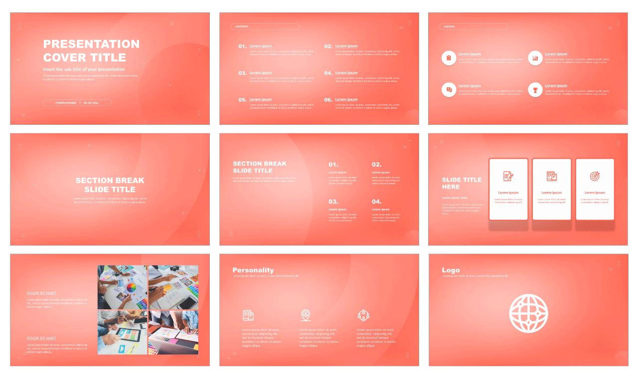 Creative Branding Free Google Slides Theme