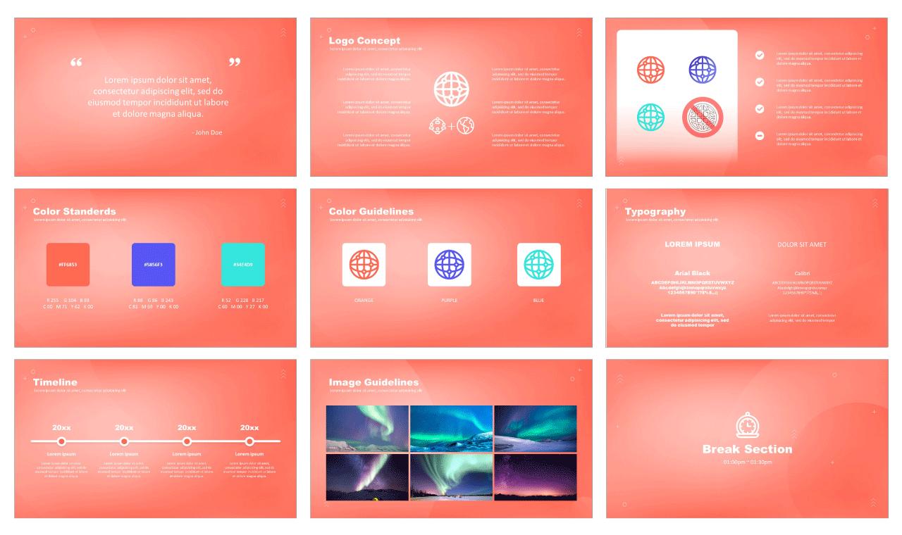 Creative Branding Free PowerPoint Templates
