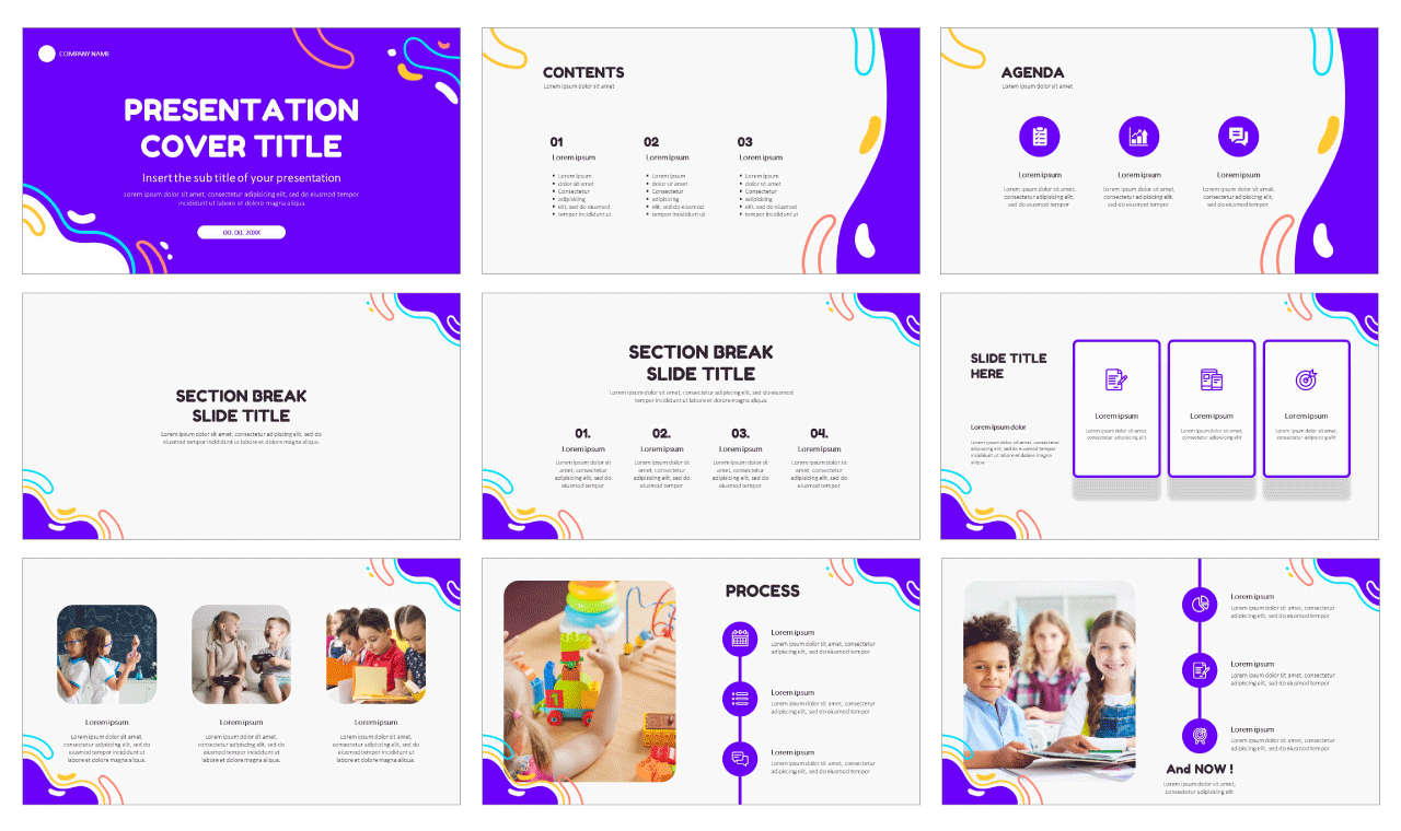 Education Free PowerPoint templates Google-Slides-themes
