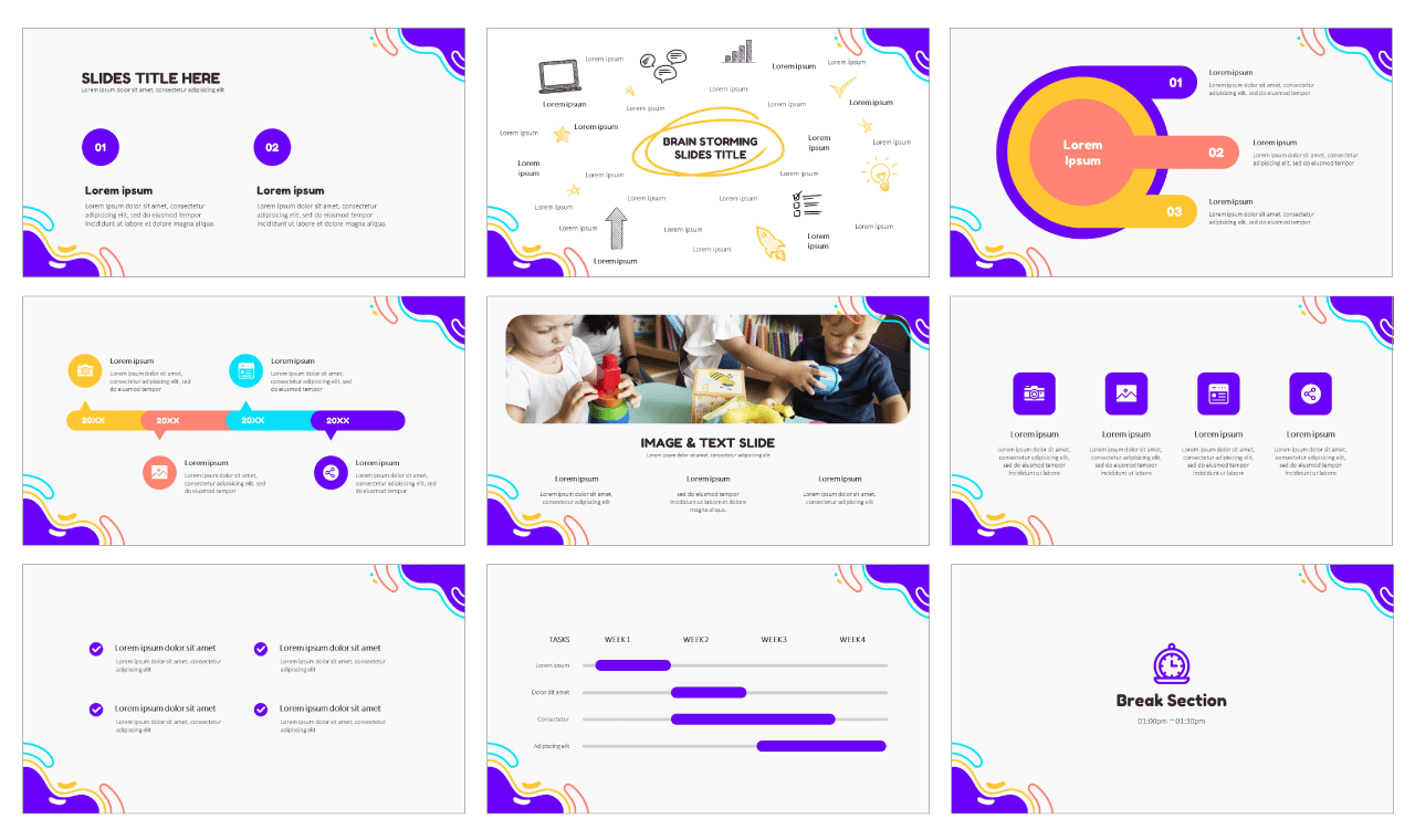 Education Google Slides themes