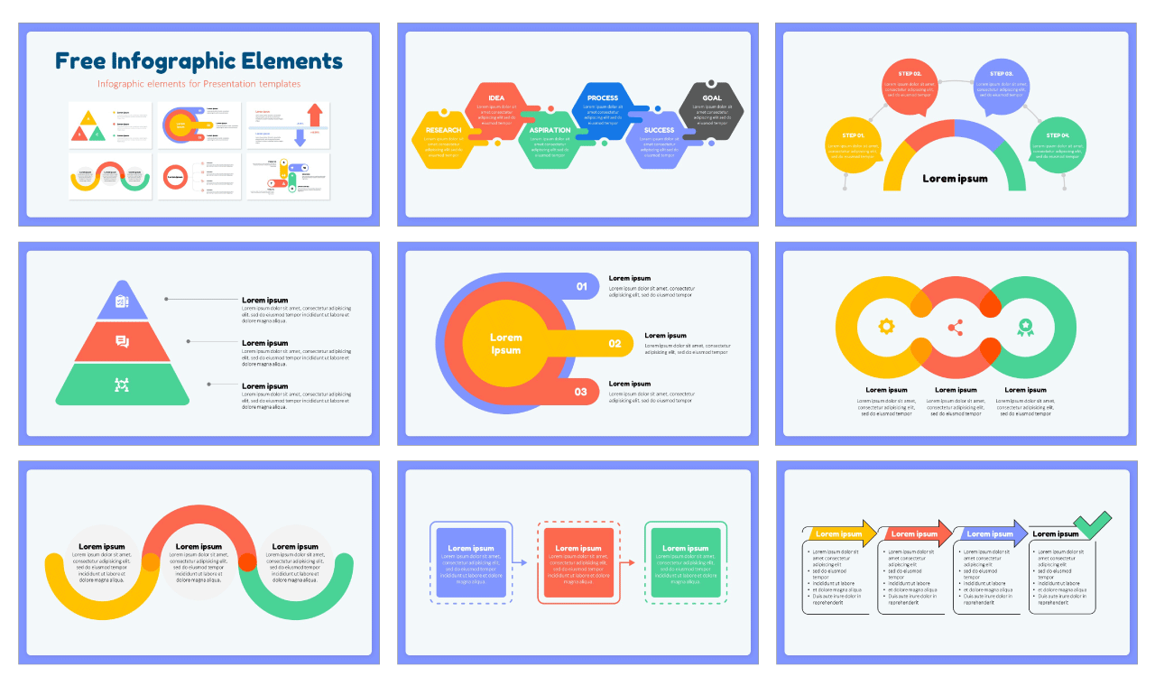 Infographic Elements Free Google Slides Theme PowerPoint Templates