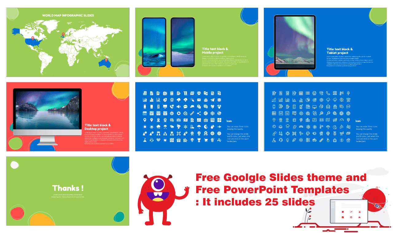 Creative Bubble PPT Templates Free Download