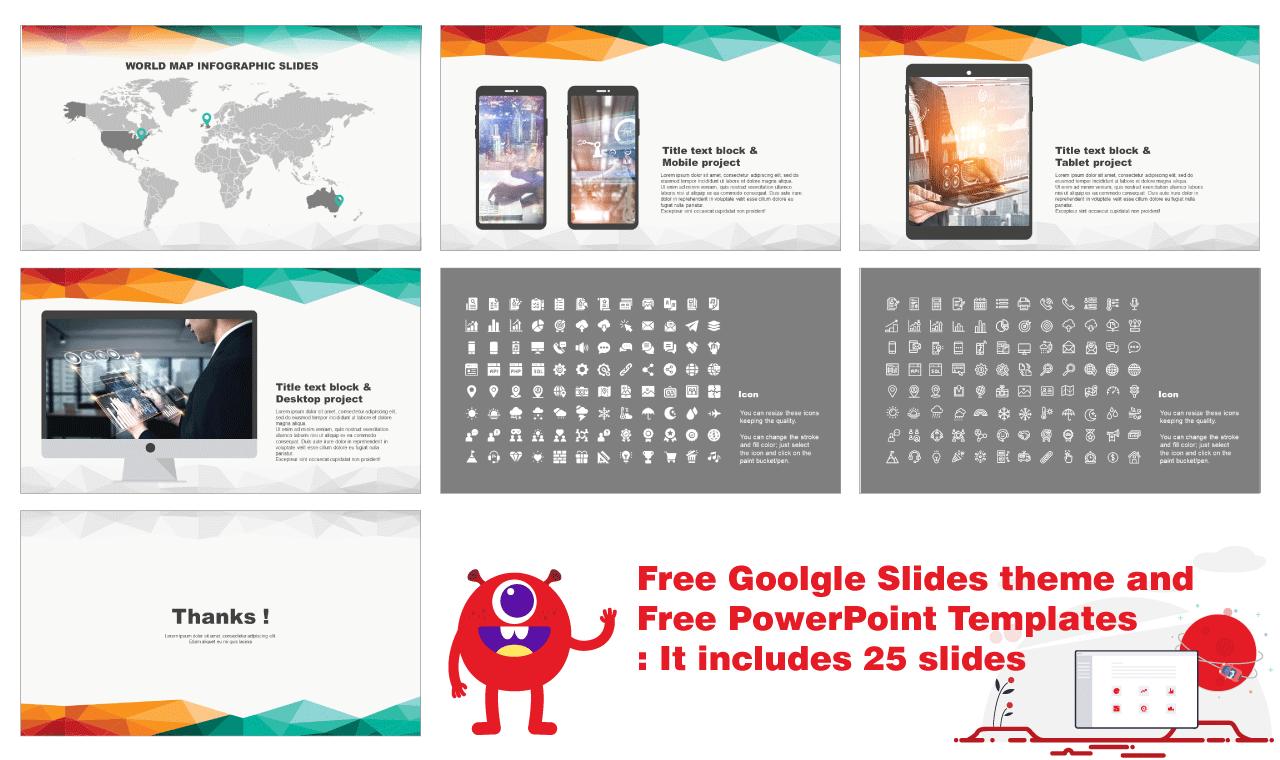 Creative technology network Presentation Google Slides PowerPoint Templates