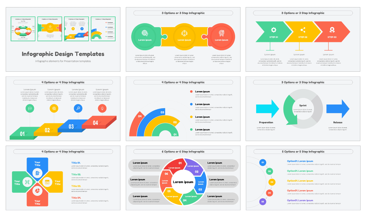 Infographic Design Templates Free PowerPoint Google Slides theme