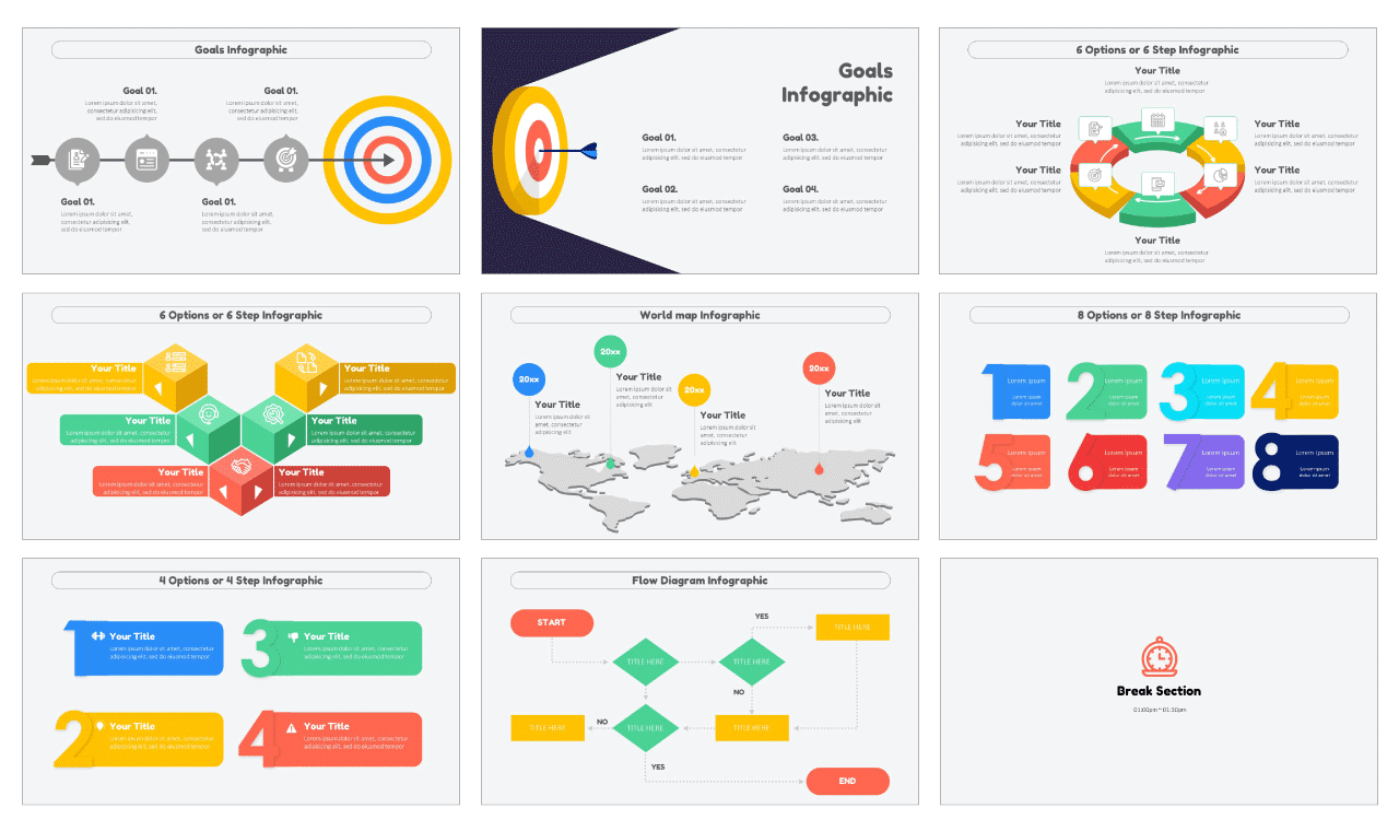 Infographic Design Templates PowerPoint Google Slides Free Download