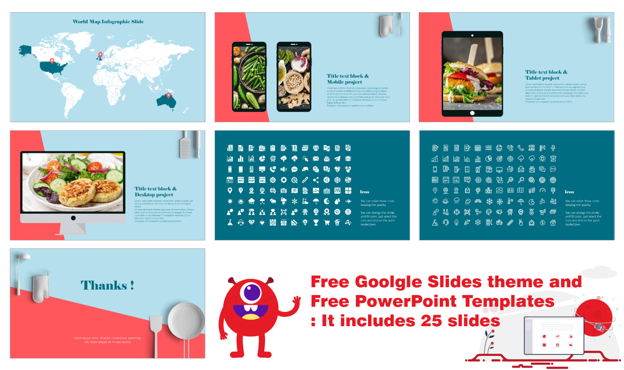 Recipes Everyone Will Love Presentation Background Design Google Slides PowerPoint Templates
