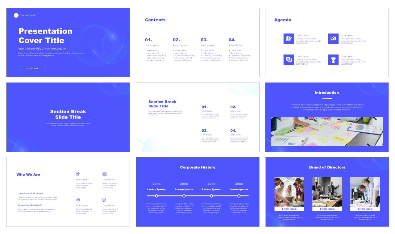 Business Multipurpose Free Google Slides Theme